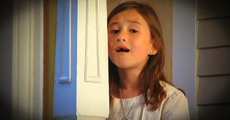 7-Year-Old Sings Chilling Rendition Of 'Amazing Grace'