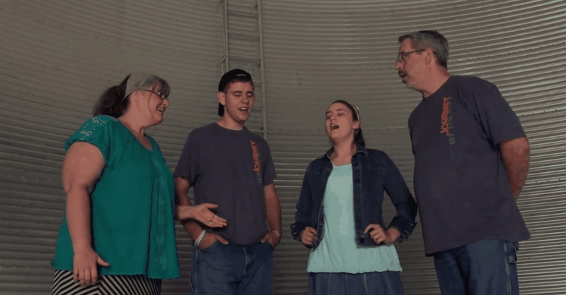 Family Worshipping In Silo Will Wow You