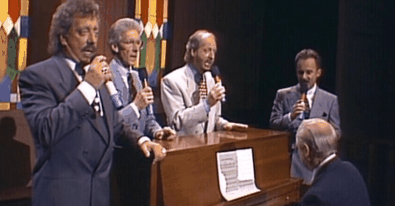 The Statler Brothers - Jesus Hold My Hand [Live]