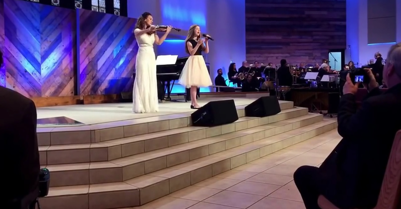 Angelic Violin Duet Of 'The Prayer' Is Beyond Beautiful