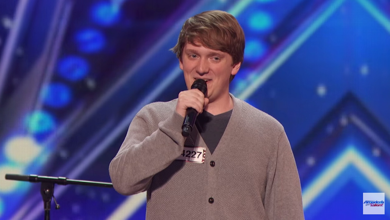 Homeschooler's Hilarious Audition Song Has The Whole Crowd Cheering