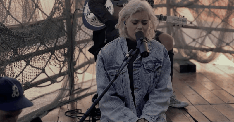 """Hillsong Performs """"Oceans"""" in the Sea of Galilee"""