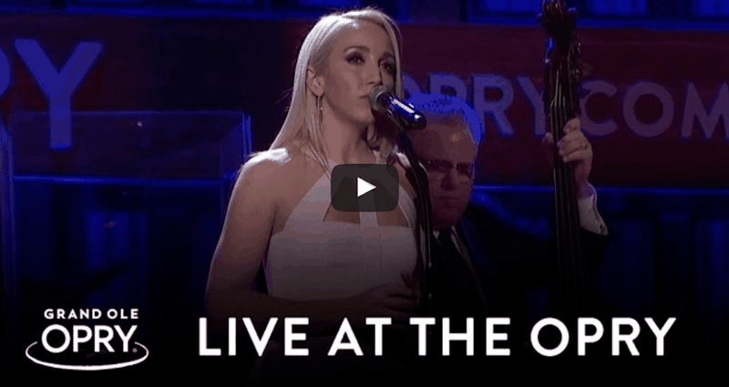 Country Singer Performs Hymn 'In The Garden' At Grand Ole Opry