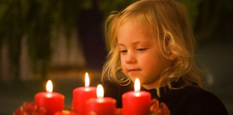 advent prayers candles