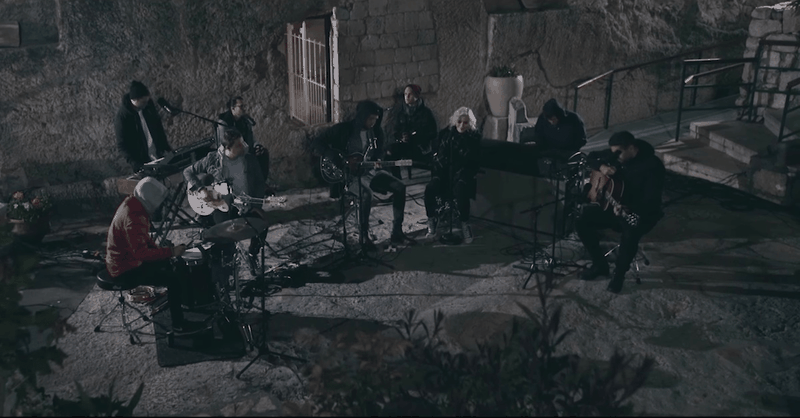 Hillsong United Worship on the Doorstep of the Garden Tomb