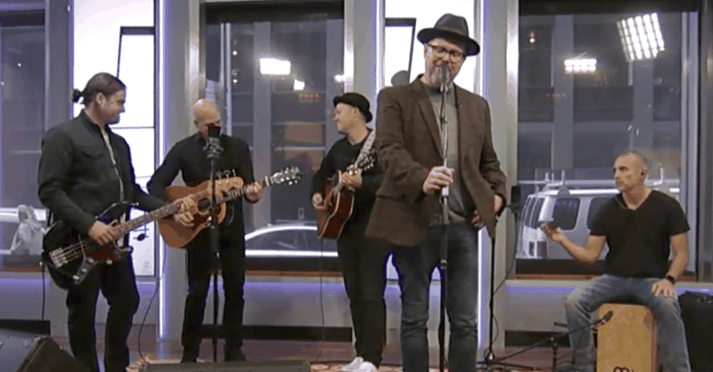 'Even If' - MercyMe Performs On Live TV