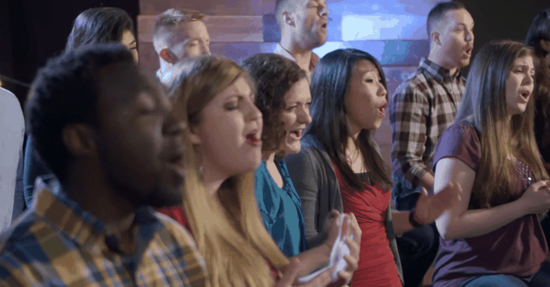 """Must-See A Capella Version of """"Come Behold the Wondrous Mystery"""""""