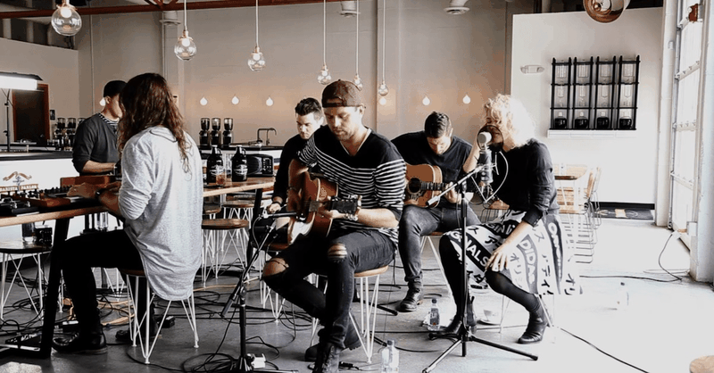 "Unique Performance of ""Touch the Sky"" by Hillsong UNITED"