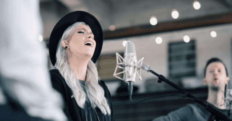 "Intimate Acoustic Performance of ""Set Me Ablaze"" by Jesus Culture"