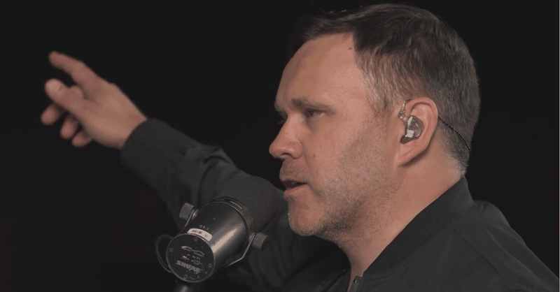 "Intimate Performance of ""One Day (When We All Get To Heaven)"" by Matt Redman"