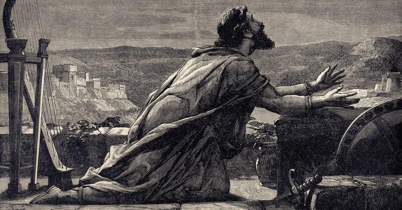 Drawing of King David