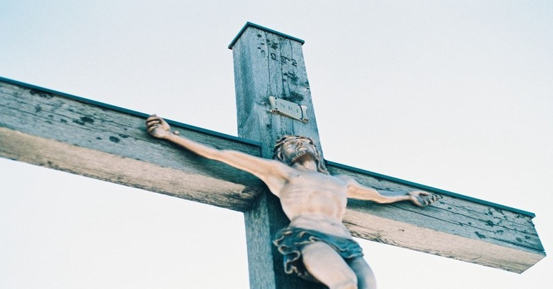 it is finished jesus on the cross