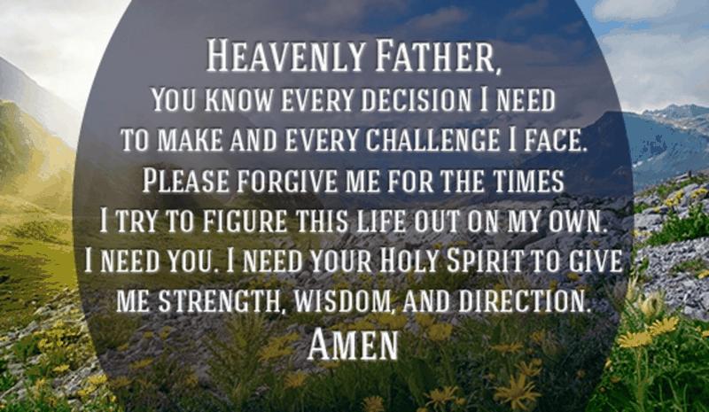 I Need You, God