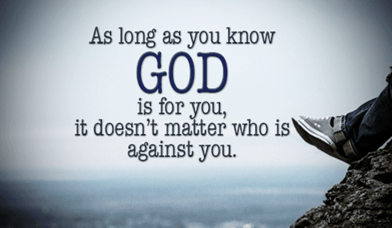 God is for You
