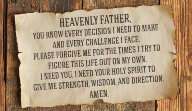 I Need God in My Life!