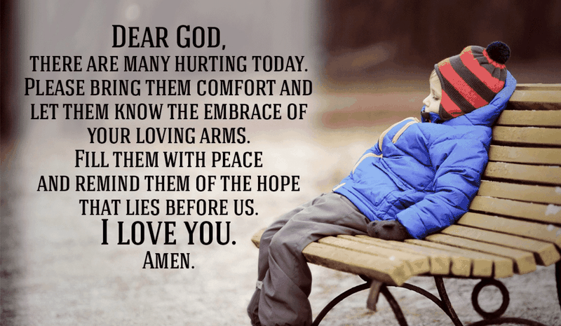 Give the Hurting Peace!