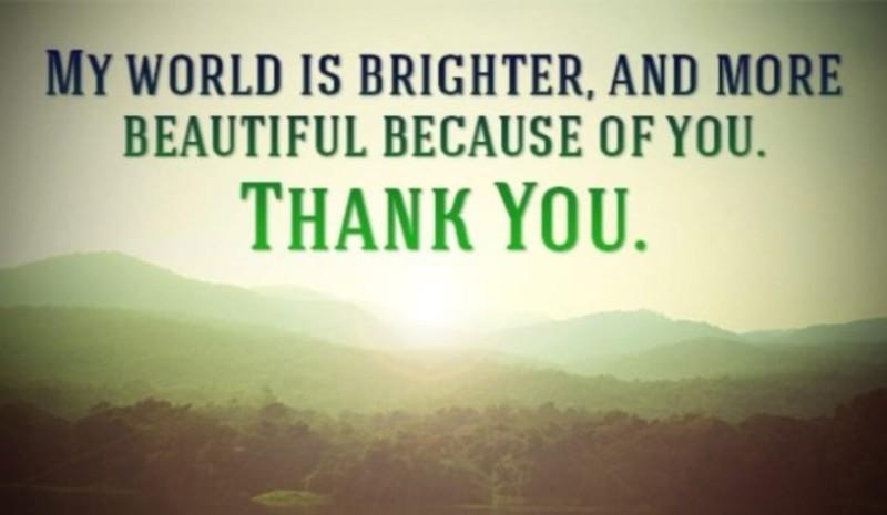 You Make My World Brighter