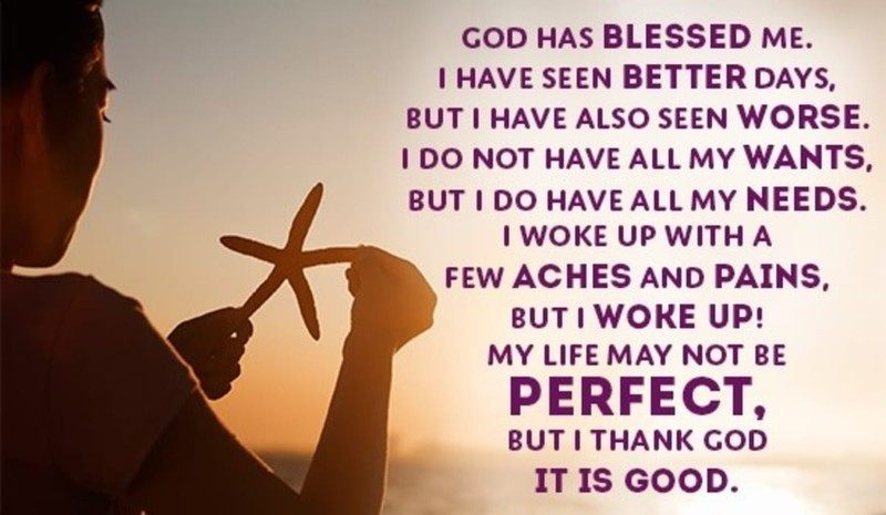 How Has God Blessed You?