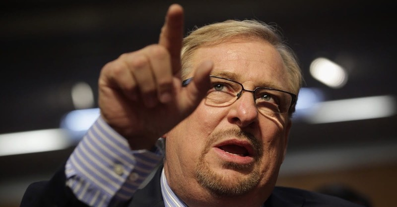 Rick Warren Says Racism is the One Thing Stopping Revival in America