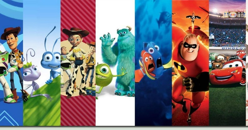 What are YOUR Top 5 Pixar Movies?