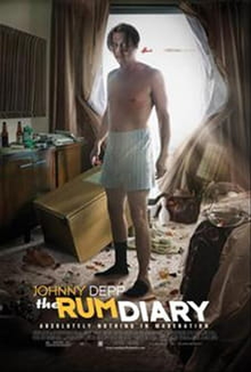 Not Much Story to Tell in <i>The Rum Diary</i>
