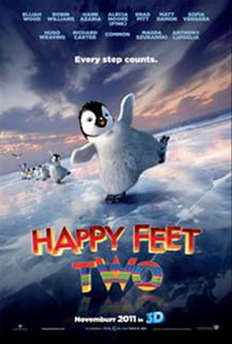 <i>Happy Feet Two</i> Lacks a Lightness of Step