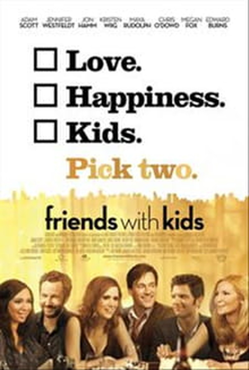 Nothing Family-Friendly in <i>Friends with Kids</i>