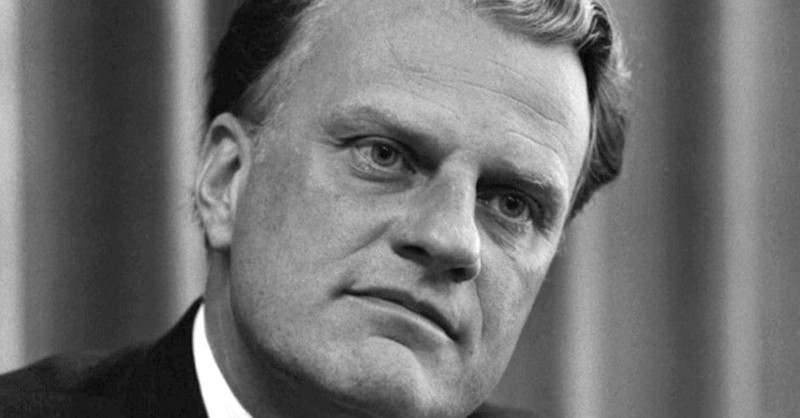 40 Courageous Quotes from Billy Graham