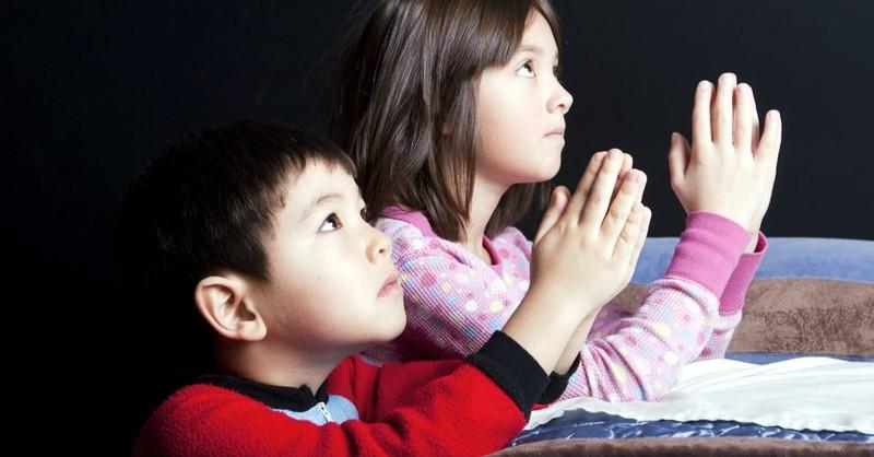 Bedtime Prayers for Children- Simple Words for Kids to Pray Before Sleep
