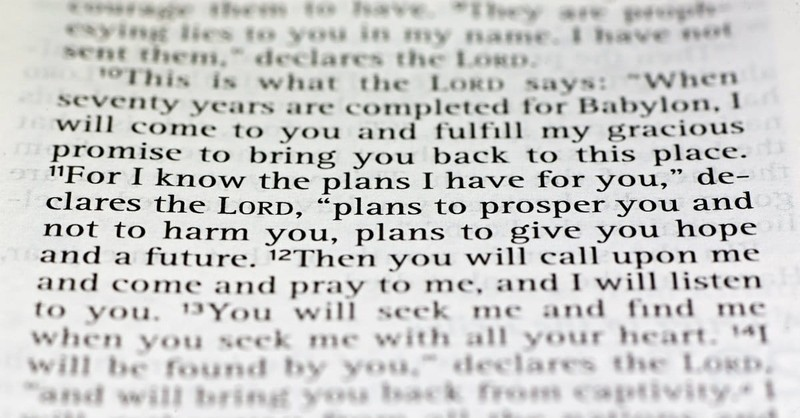 Does Jeremiah 29:11 Apply to New Testament Believers Today?