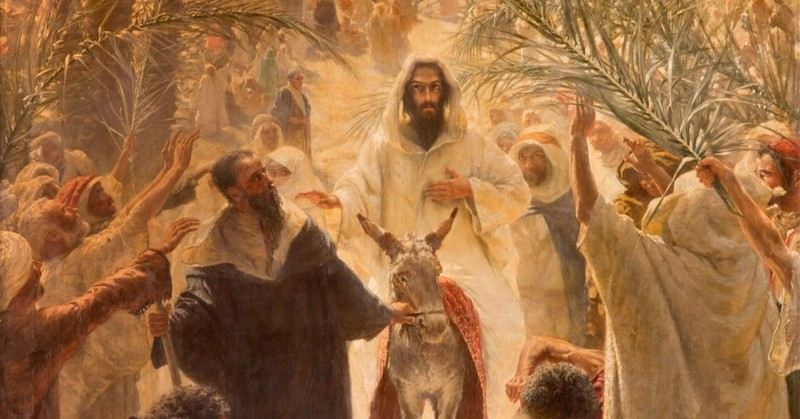 1. Christ is claiming His rightful place as the prophesied Messiah.