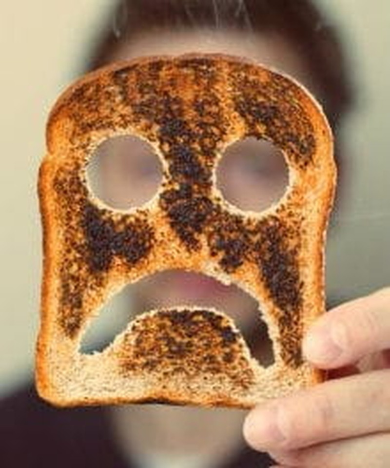 Why Moms Shouldn't Eat Burnt Toast