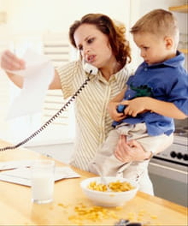 The Stress and Strain of Being Supermom