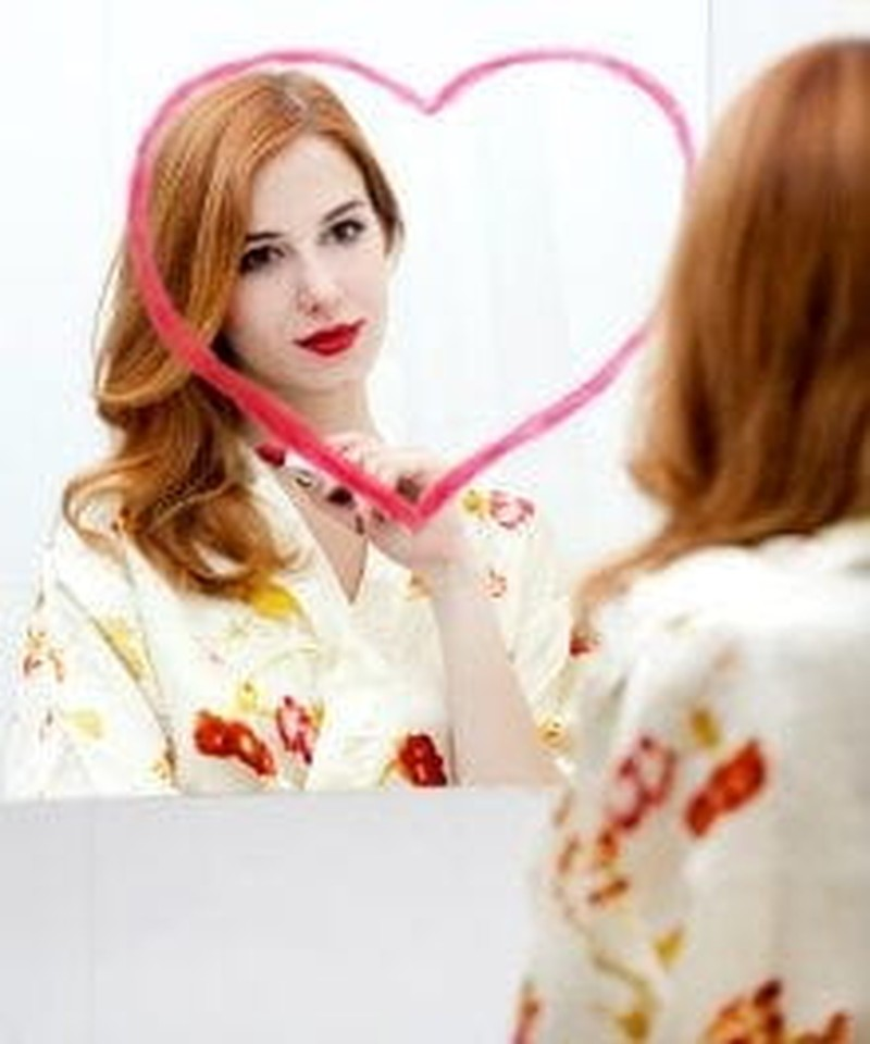 In Love? Take a Look in the Mirror First