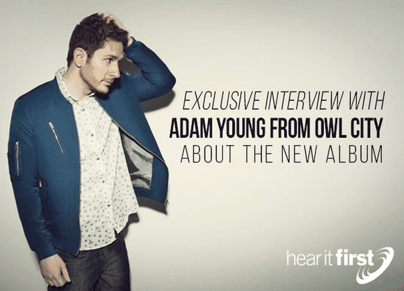 Exclusive Interview with Adam Young from Owl City About the New Album