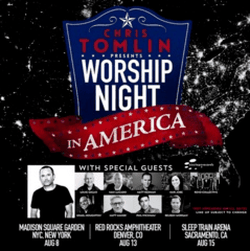 Chris Tomlin Announces Worship Night In America Events Amidst Sold Out Tour Dates