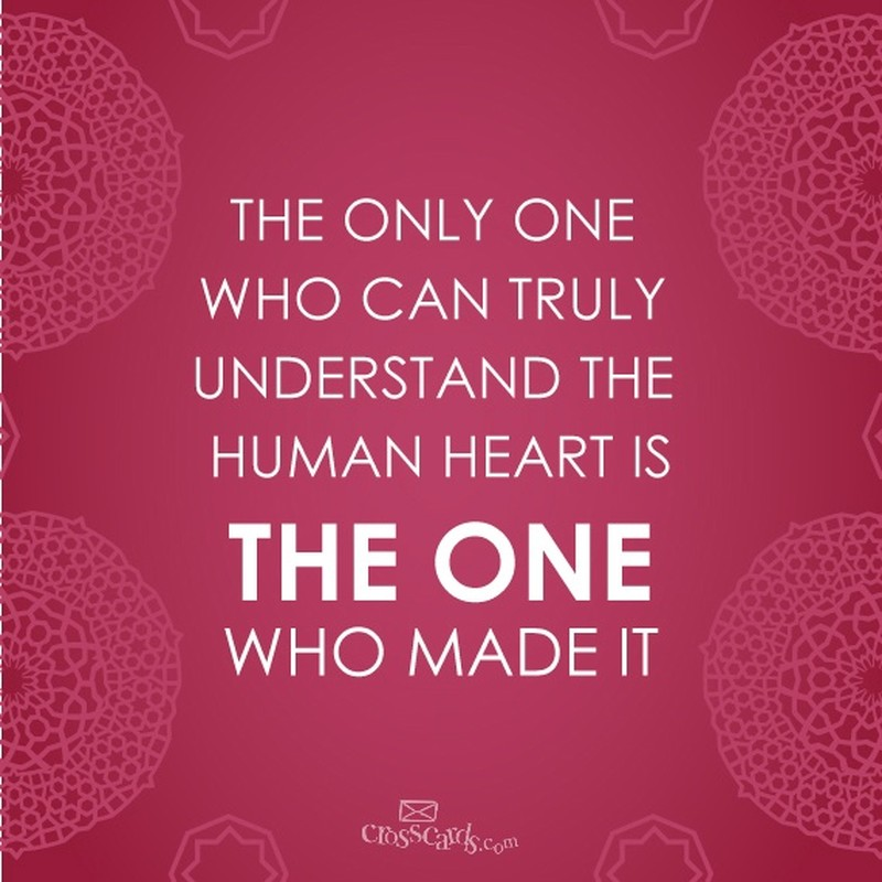 The Only One Who Can Truly Understand the Human Heart