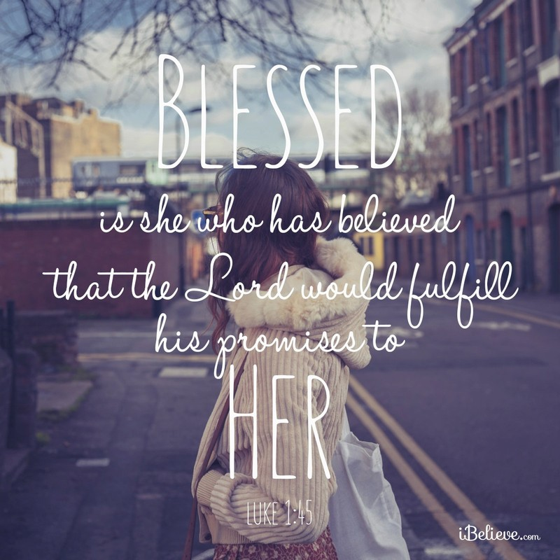 Blessed is She Who Has Believed