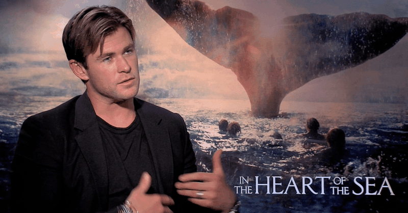 Chris Hemsworth Explores Humanity's Fallen Nature in <i>In the Heart of the Sea</i>
