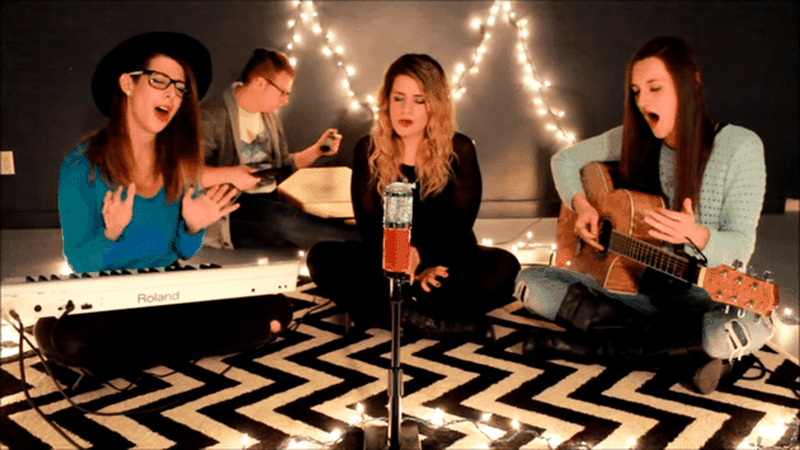 3 Girls Sing 'O Holy Night' – Oh My WOW!