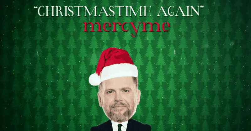 MercyMe – Christmastime Again (Official Lyric Video)