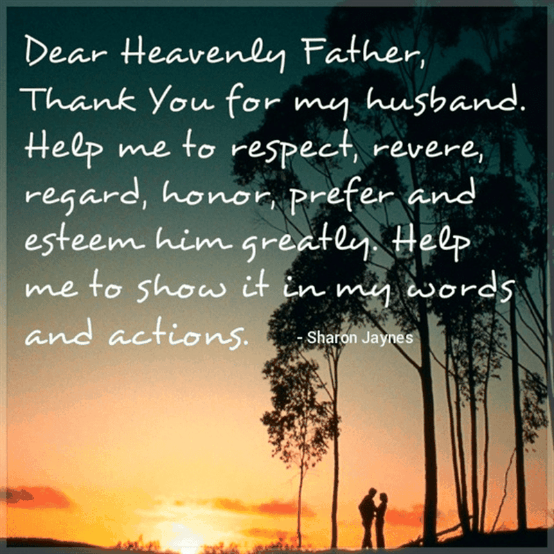 Thank You for My Husband
