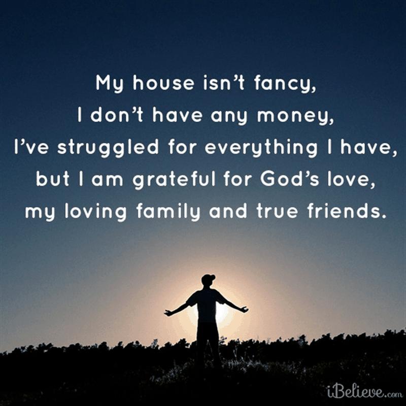 I am Grateful for God's Love