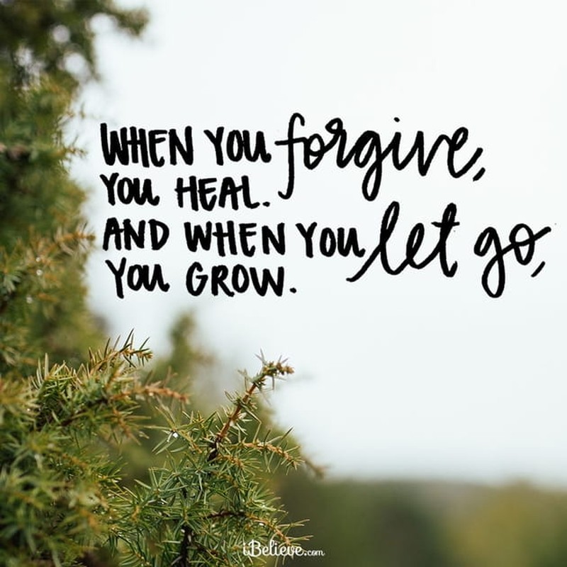 When You Let Go, You Grow
