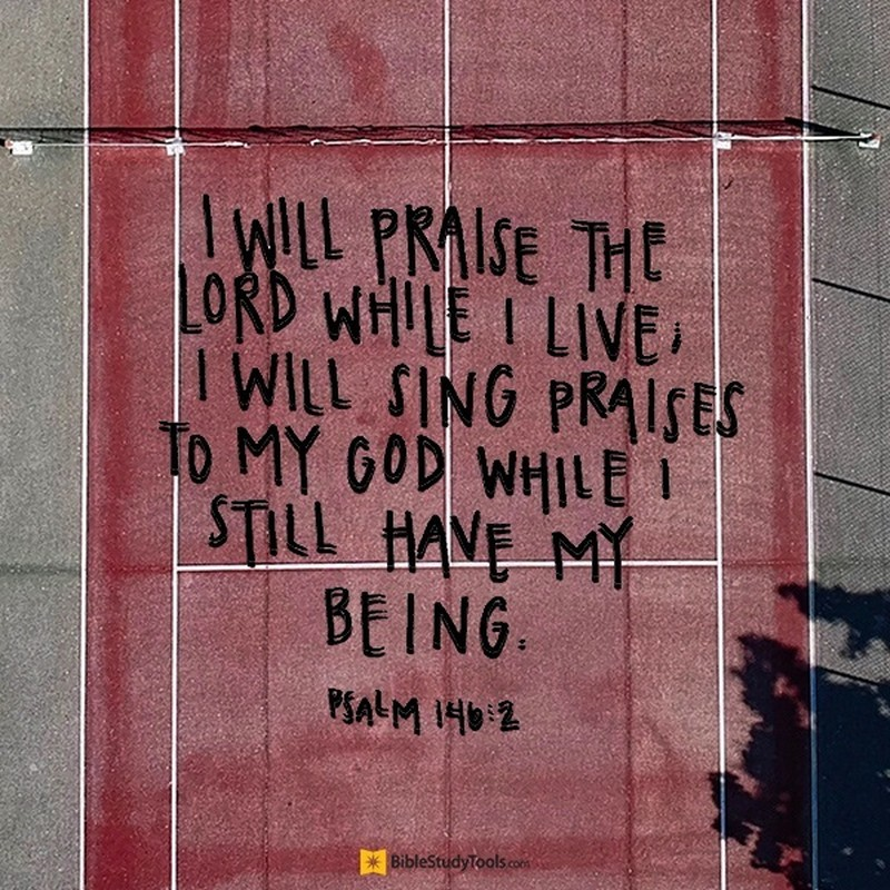 Your Daily Verse - Psalm 146:2