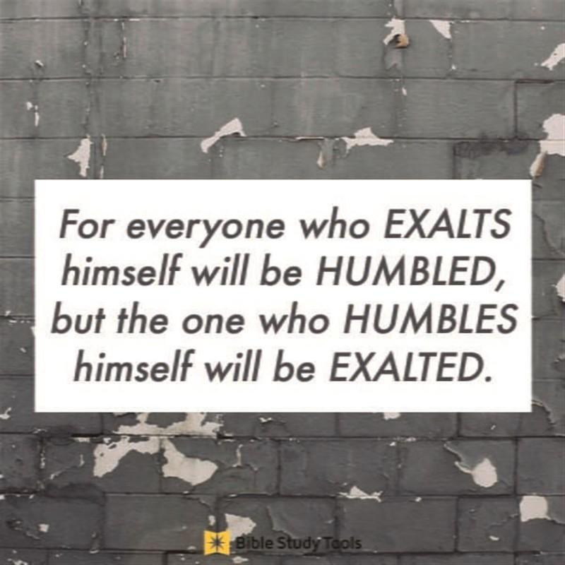 Your Daily Verse - Luke 18:14