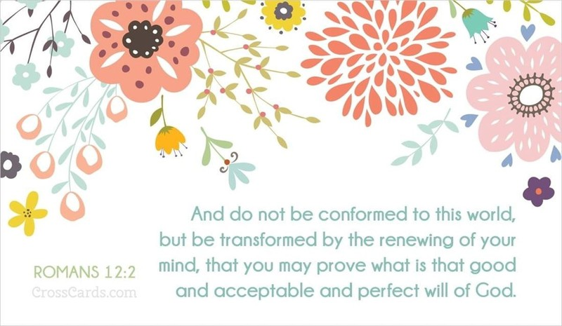 Your Daily Verse - Romans 12:2