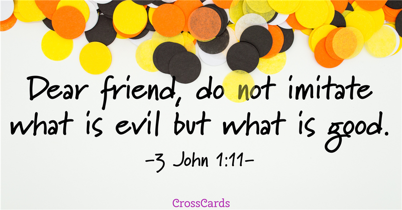 Your Daily Verse - 3 John 1:11