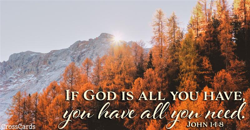 Your Daily Verse - John 14:8