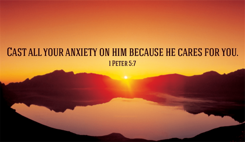 Your Daily Verse - 1 Peter 5:7